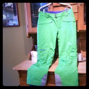 NWOT Marmot ski pants